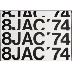 8 JAC '74. Oitava exposiçao jovem arte contemporânea. Museu de arte contemporârea da Universidade de Sao Paulo, 1974