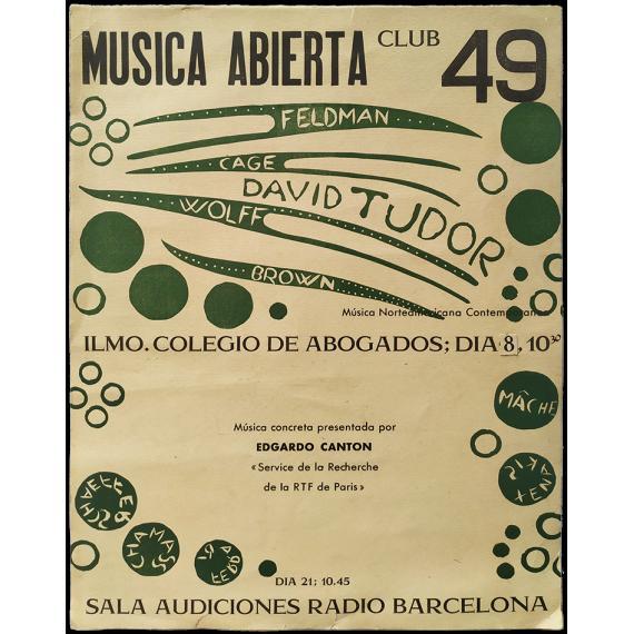 "Club 49 - ""Música abierta"": Música Norteamericana Contemporánea"