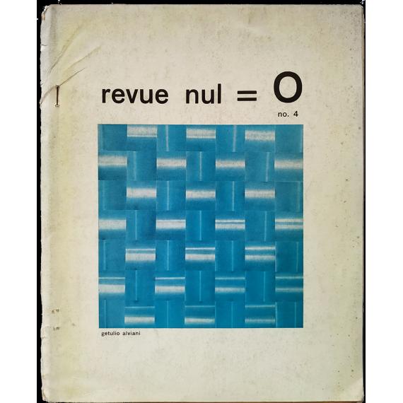 Revue Nul - 0, no. 4