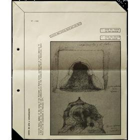 """Clorindo Testa - """"Latin America 76"""". Fundación Joan Miró, Barcelona, February 1977"""