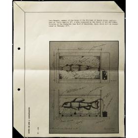 "Luis Benedit - ""Latin America 76"". Fundación Joan Miró, Barcelona, February 1977"