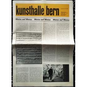 Kunsthalle Bern, 25. Mai bis 3. Juli 1966: Weiss auf Weiss