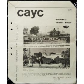 "CAyC - ""Homenaje a Salvador Allende"" (1973)"