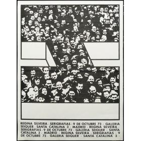Regina Silveira - Serigrafías. Galería Seiquer, Madrid, octubre 1973