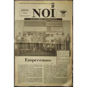 NOI Nuevo Orden Informativo. Caracas, No. 2, Septiembre 1991