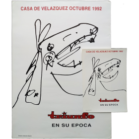 Triunfo en su época. Casa de Velázquez, [Madrid], octubre 1992