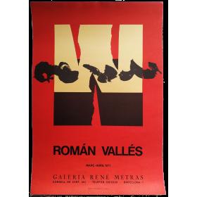 Román Vallés - [Pintures, Collages 1975-1976]. Galería René Metras, Barcelona, març-abril 1977