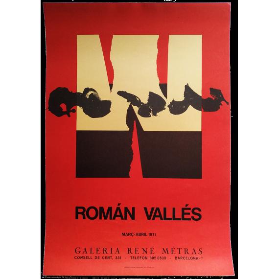 Román Vallés. Galería René Metras, Barcelona, març-abril 1977