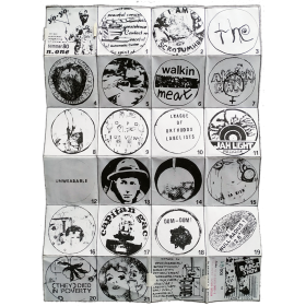 "Yo-Yo: A pocket magazine of visual art. Summer 80. nº one - ""The Badge Show"". [Forte dei Marmi, 8-16 Septiembre 1980]"