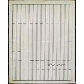 Elena Asins. Salas de Exposiciones, Madrid, diciembre 1979 - enero 1980