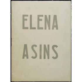 Elena Asins. Galería Edurne, Madrid, mayo 1968