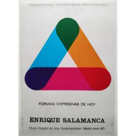 Formas expresivas de hoy - Enrique Salamanca. Museo Español de Arte Contemporáneo, Madrid, junio 1971