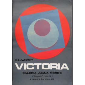 Salvador Victoria. Galería Juana Mordó, Madrid, 8 febrero al 4 de marzo 1972