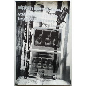 Eighth Annual New York Avant Garde Festival (armory show). New York, november, 1971