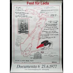 """Fest für Leda"" - Miralda. Documenta 6, 25-6-1977"