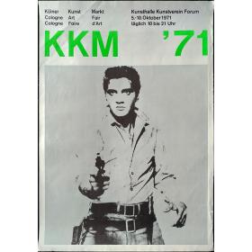 KKM '71. Kölner Kunst Markt - Cologne Art Fair - Cologne Foire d'Art. Kunsthalle Kunstverein Forum, 5-10 oktober 1971