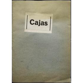 Cajas - Jesse A. Fernández. Galería Ynguanzo, Madrid, octubre-noviembre 1976