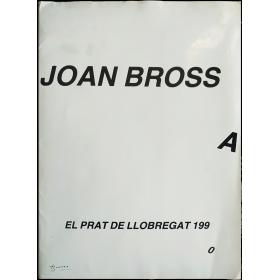 Joan Brossa. Taula rodona: Brossa, atzar i màgia. El Prat de Llobregat, 2 de maig de 1990