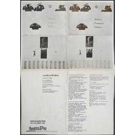 Josefina Miralles - Garcia Sevilla. Temps Galería de arte, Valencia, enero 1978