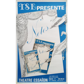 TSE presente Notes et Vierge. Theatre Essaïon, Paris
