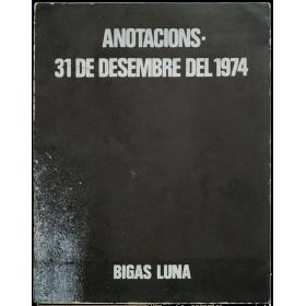 Anotacions - 31 de desembre del 1974