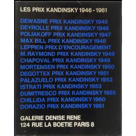Les Prix Kandinsky 1946-1961. Galerie Denise René, Paris, mars-avril 1975