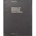 "Wolfgang Laib, Richard Long, Richard Serra, Lawrence Weiner. Collection du capcMusée. ""Exposition Sentimentale"""