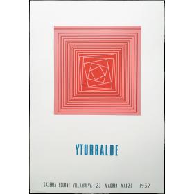 Yturralde. Galería Edurne, madrid, marzo 1967