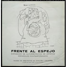 Frente al espejo. Exposición de autorretratos de artistas españoles contemporáneos
