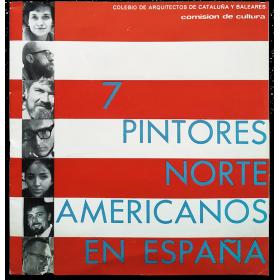 7 pintores norteamericanos en España. Colegio de Arquitectos de Cataluña y Baleares, Barcelona