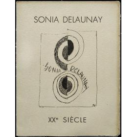 Sonia Delaunay - Quelques Peintures et Gouaches récentes. Siège de la Revue XXe Siècle, Paris, décembre 1970 - janvier 1971