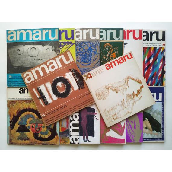Amaru. Revista de artes y ciencias. Números 1 al 14, Enero 1967 a Enero 1971