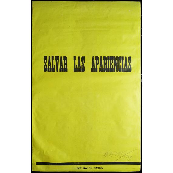 Salvar las apariencias - Horacio Zabala