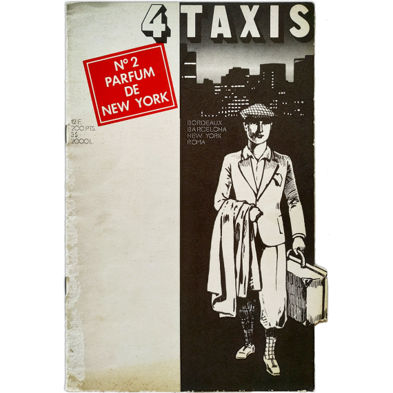 4 Taxis. Parfum de New York. Nº 2. Août 1978