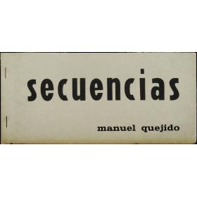 Manuel Quejido - Secuencias. Escuela Superior Técnica de Arquitectura, Madrid, del 9 al 23 de mayo, 1969