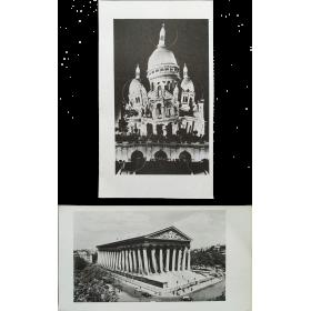 """Pol Bury - """"Cinétisation du Sacré-Coeur"""" """"Cinétisation de La Madeleine"""" 1963 [KWY 12, hiver 1963]"""