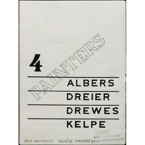 4 Painters: Albers, Dreier, Drewes, Kelpe