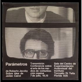 """""""Parámetros"""", de Roberto Jacoby. Sobre idea de Julián Cairol"""